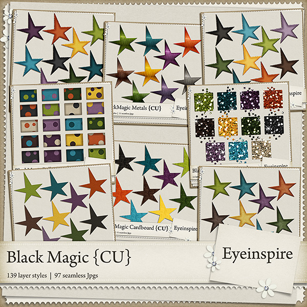 halloween, layer styles, photoshop, pse, metal, card stock, paper, kraft, glitter, shabby, cardboard, felt, polkadot, pattern styles, scrapbooking, digital scrapbooking, eye inspire, commercial use, sale, coupon